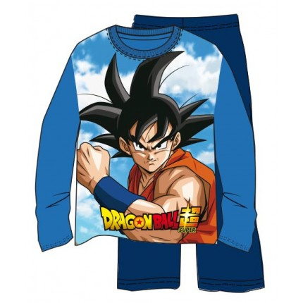Pijama Dragon Ball Z niño Son Goku manga larga