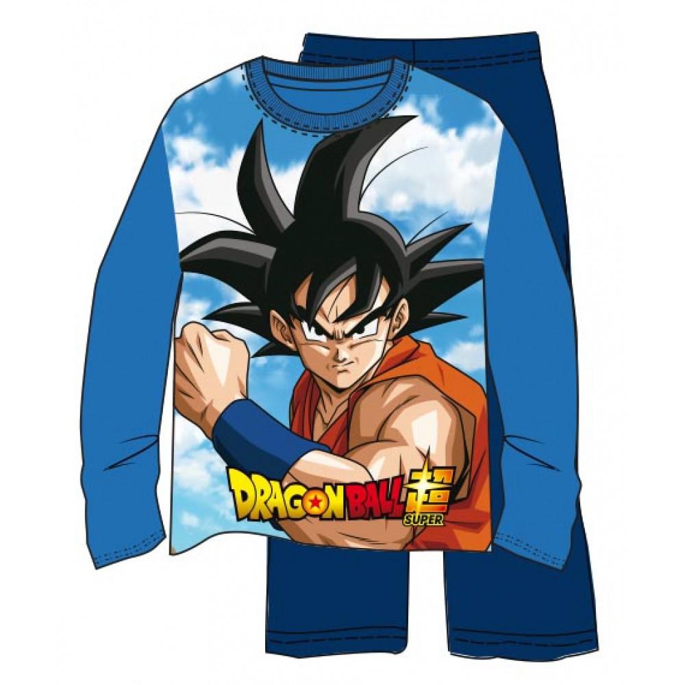 Pijama Dragon Ball Z niño Son Goku manga larga