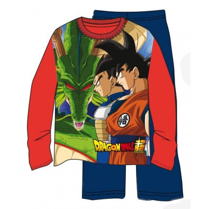 Pijama Dragon Ball Z niño Dragon Shenron manga larga