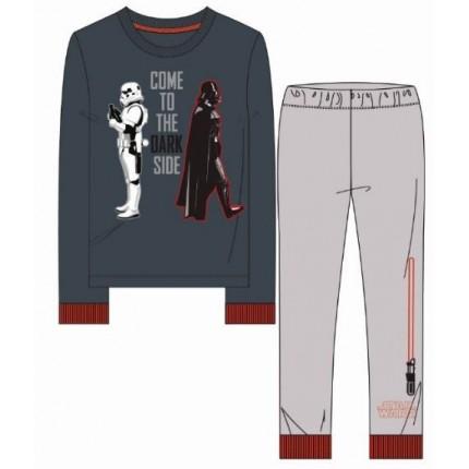Pijama Star Wars niño Come to The Dark Side manga larga terciopelo