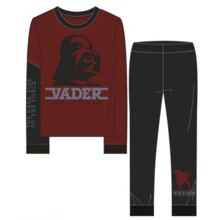 Pijama Star Wars niño Vader manga larga terciopelo