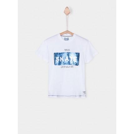 Camiseta Tiffosi Kids Sebastiao niño manga corta
