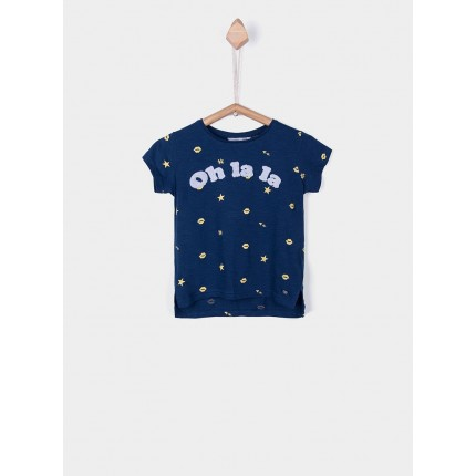 Camiseta Tiffosi Kids Despin niña manga corta