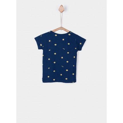 Espalda Camiseta Tiffosi Kids Despin niña manga corta