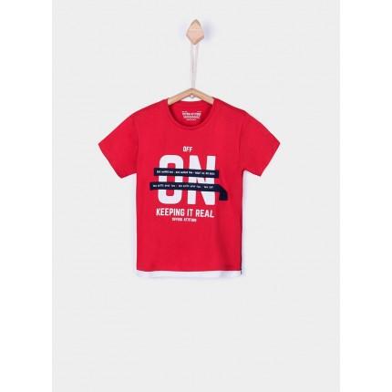 Camiseta Tiffosi Kids Herman niño manga corta