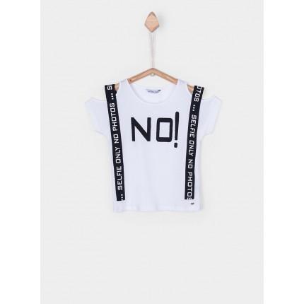 Camiseta Tiffosi Kids Carmo niña manga corta