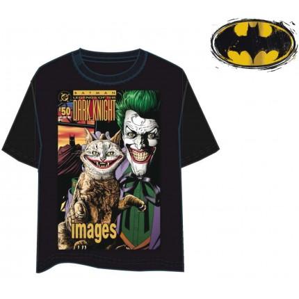 Camiseta Jocker DC Comics Batman manga corta