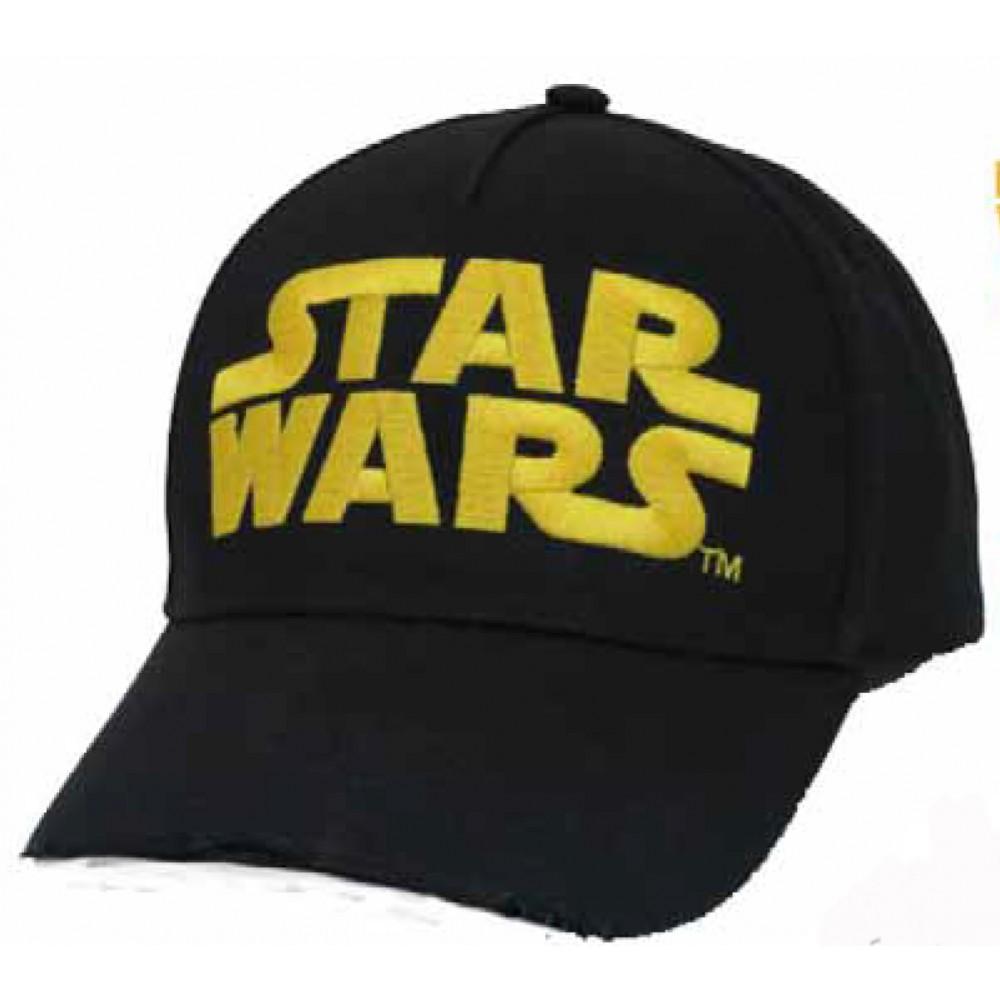 Gorra Star Wars Junior regulable belcro