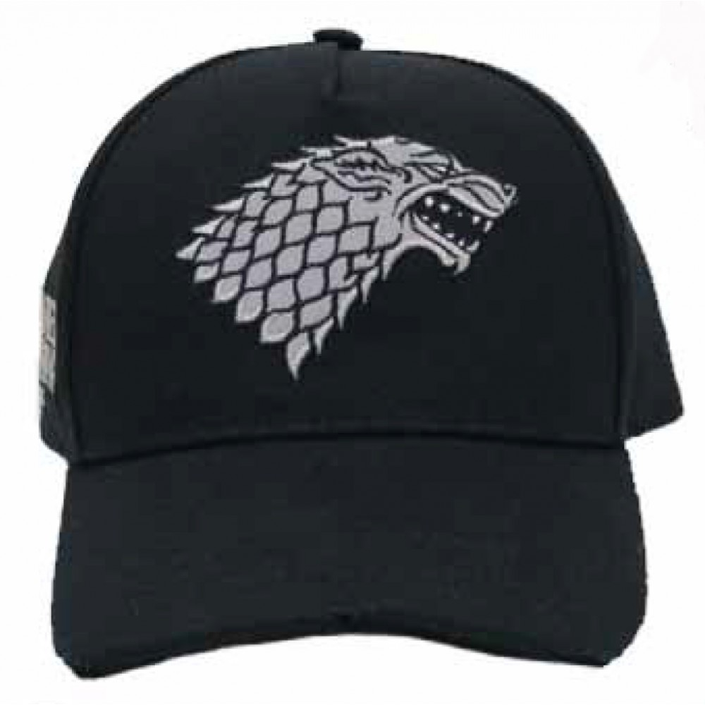 Gorra Juego de Tronos Junior Stark belcro regulable Garme of Thrones