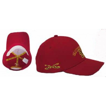 Detalle interior y lateral Gorra Harry Potter Junior Gryffindor belcro regulable