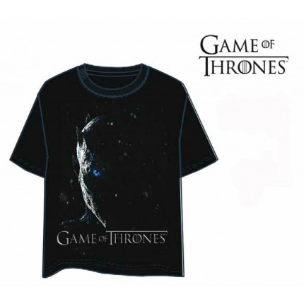 Camiseta Juego de Tronos Caminante Blanco manga corta Game of Thrones