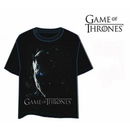 Camiseta Juego de Tronos Caminante Blanco manga corta Game of Thrones