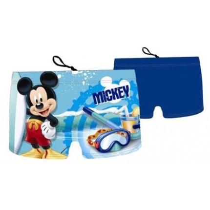 Azul Bañador boxer Mickey niño Disney cordón