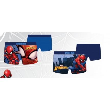 Pack de 2 Boxers Spider-man niño Marvel goma