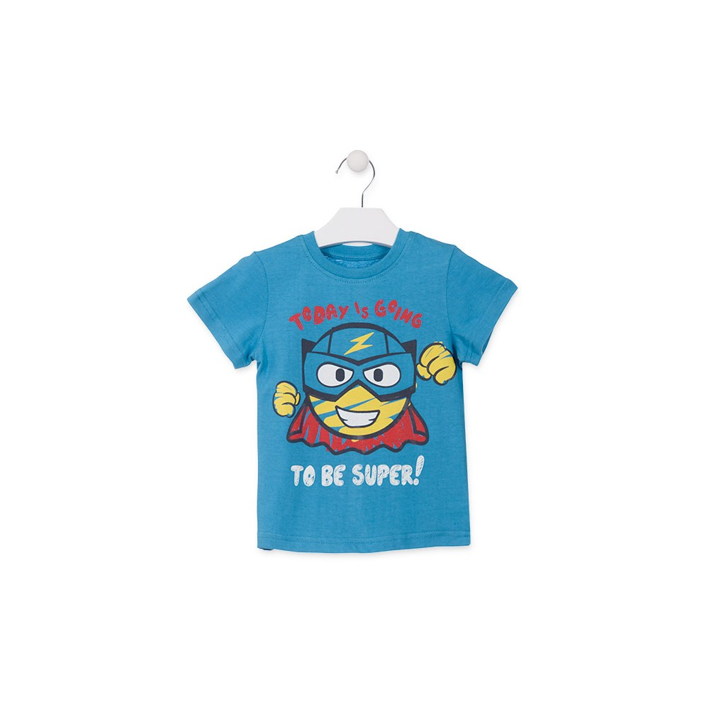 Camiseta Losan Kids niño infantil To Be Super! manga corta