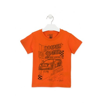 Camiseta Losan Kids niño infantil Dooper Speed manga corta