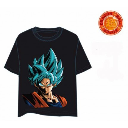 Camiseta Dragon Ball Vegetto adulto manga corta 100% Algodón