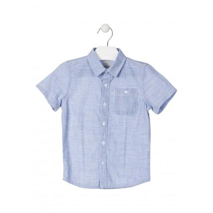 Camisa Losan Kids niño manga corta 100% Algodón