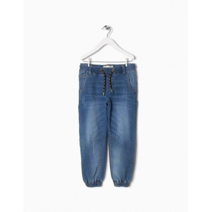 zippy denim pantalon cordon