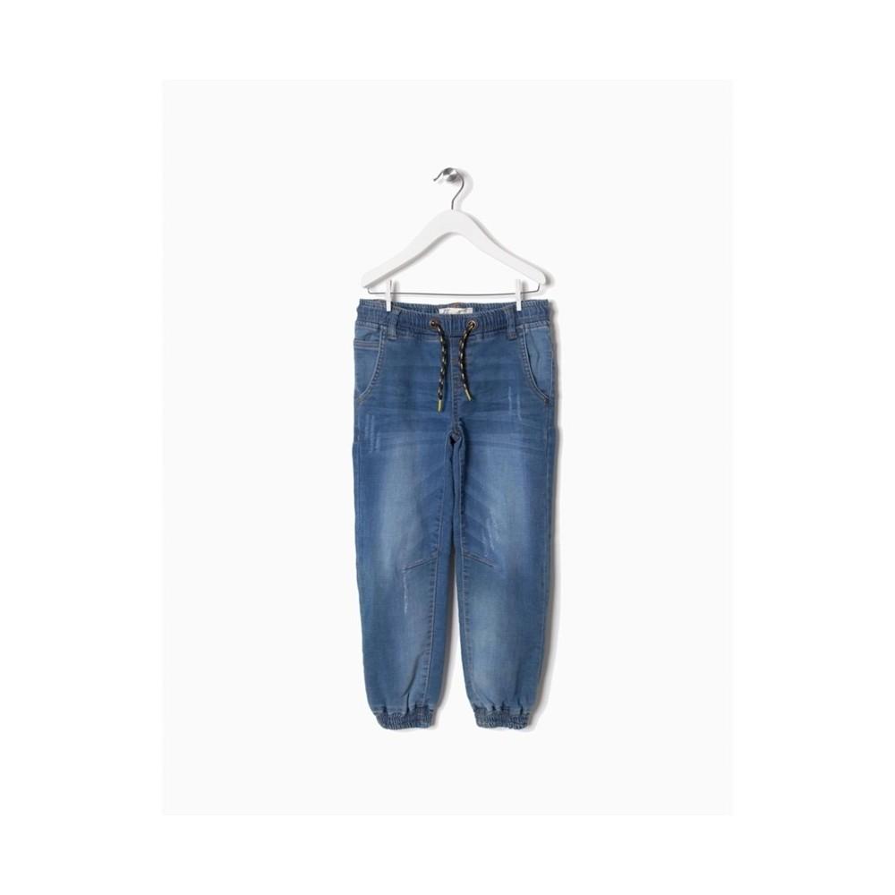 zippy denim pantalon cordon