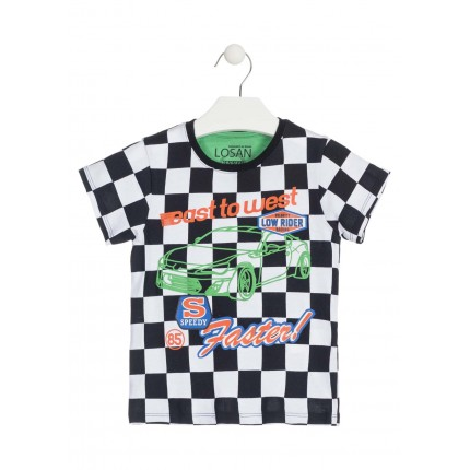 Camiseta Losan Kids niño East to west infantil manga corta