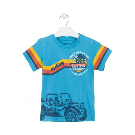 Camiseta Losan Kids niño California infantil manga corta