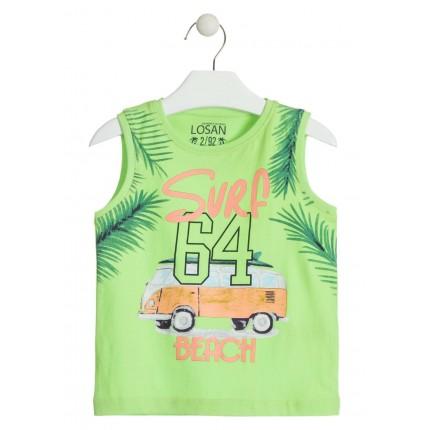 Camiseta Losan Kids niño Surf 64 Beach infantil tirantes