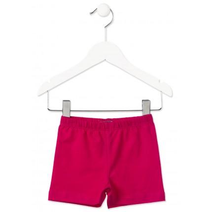 Short Jogging Losan Kids niña básico ajustado