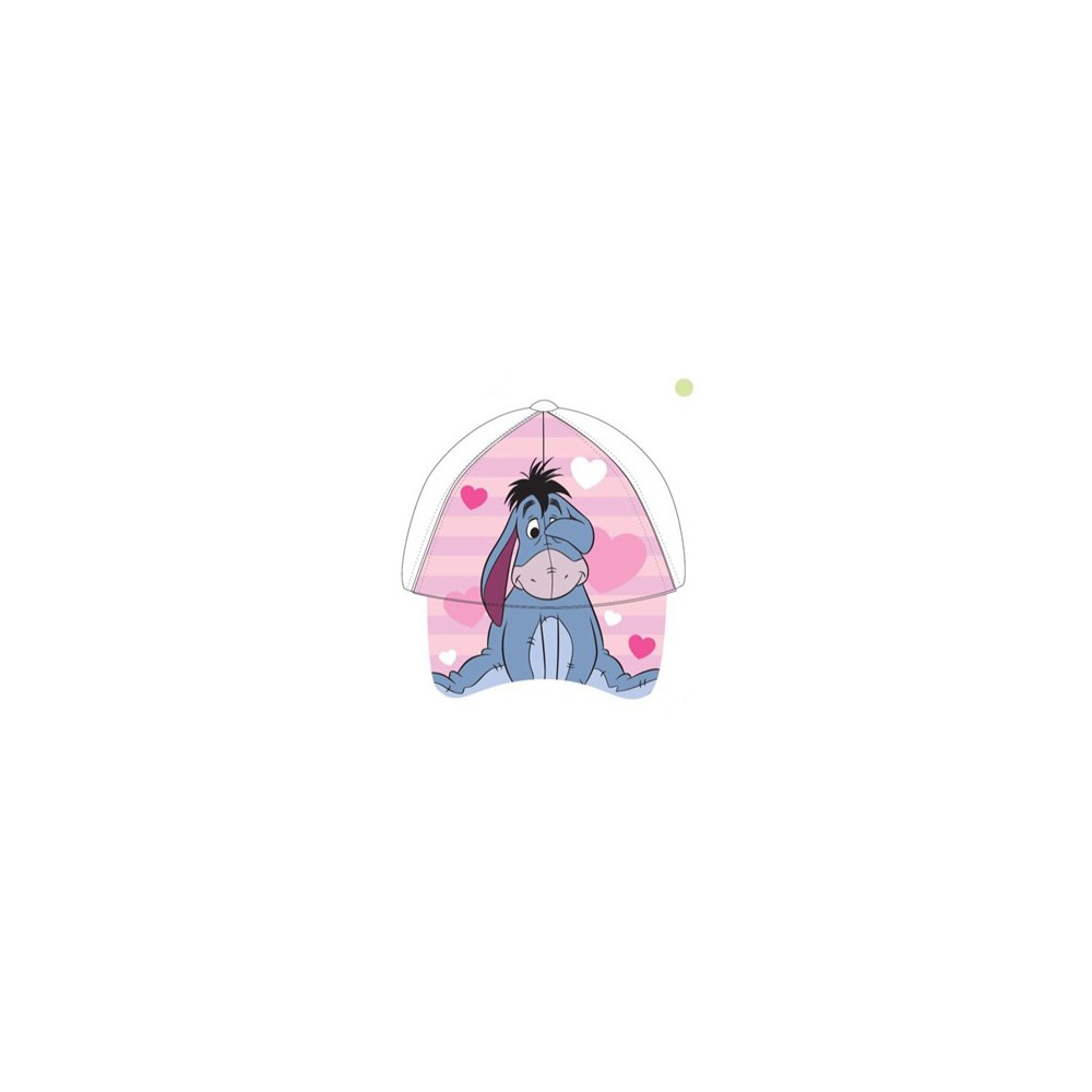 Gorra Dumbo bebe niña Disney regulable blanca