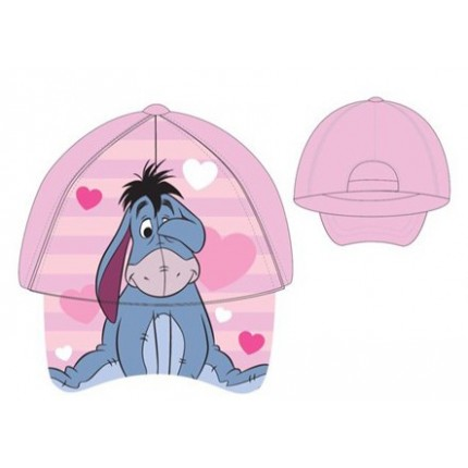 Gorra Dumbo bebe niña Disney regulable rosa