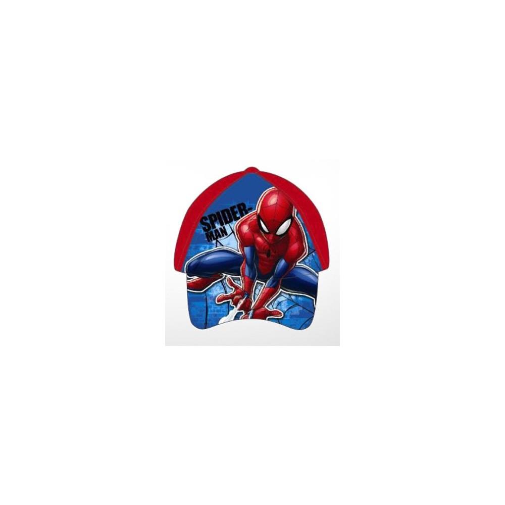 Gorra Spider-man Marvel niño infantil belcro regulable roja