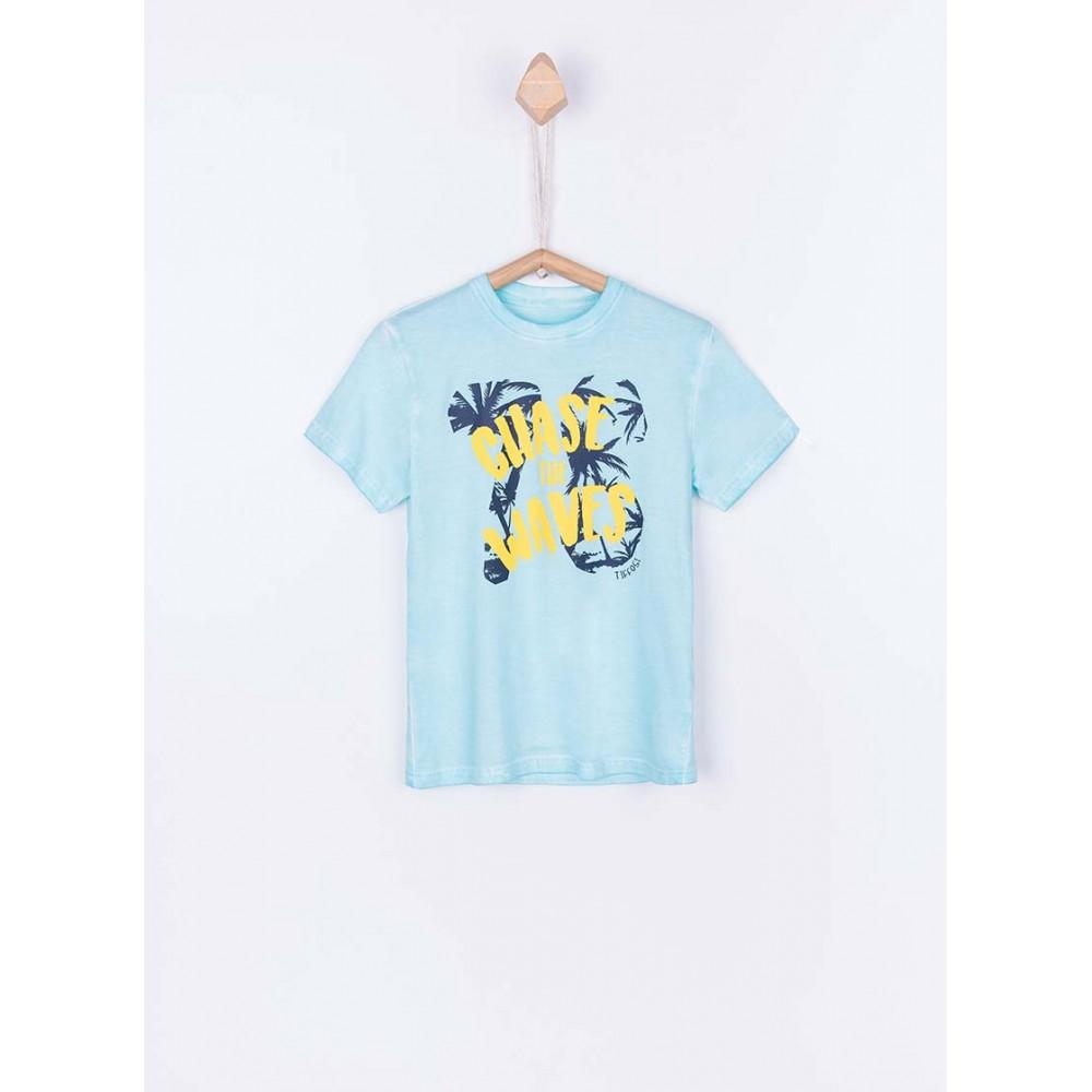 Camiseta Tiffosi Kids Roddy niño junior manga corta Chase the waves