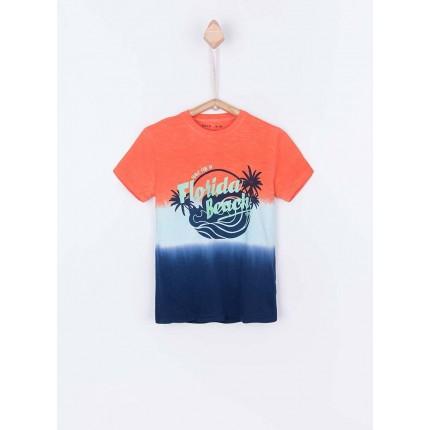 Camiseta Tiffosi Kids Rafael niño junior manga corta Florida Beach
