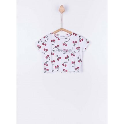 Camiseta Tiffosi Kids Mint niña junior manga corta
