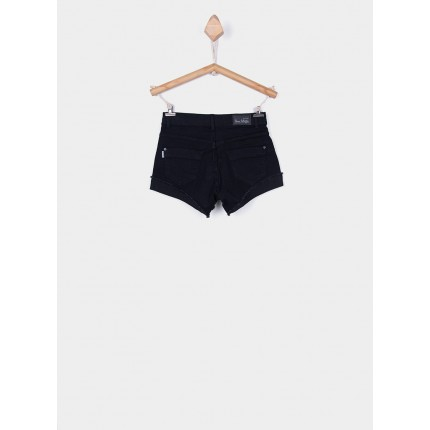 Parte trasera Short Denim Tiffosi Kids Chloe 100 negro