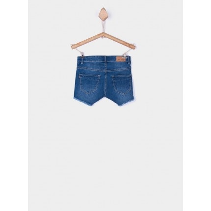 Parte trasera Short Denim Tiffosi Kids Chloe 87 niña junior Medium Waist
