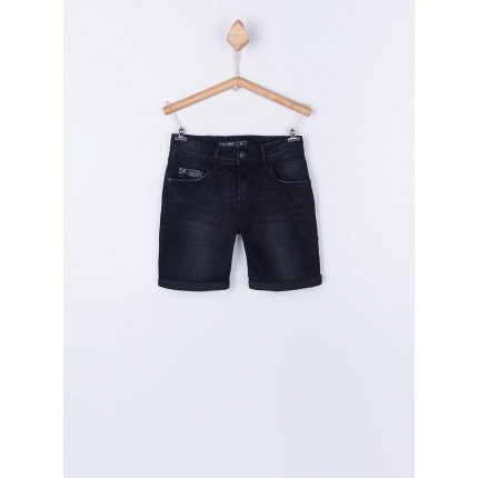 Bermuda Jeans Tiffosi Kids Joe 29 niño junior cinco bolsillos Slim Fit