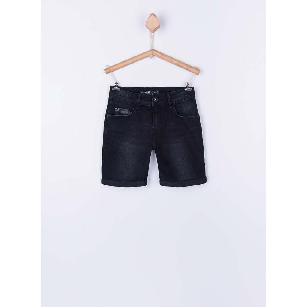 Bermuda Jeans Tiffosi Kids Joe 29 niño junior cinco bolsillos Slim Fit