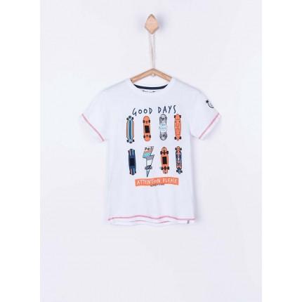 c839bfa30 Camiseta Tiffosi Kids Richard niño junior manga corta Play with your Tshirt  ...