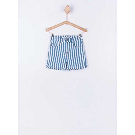Short Denim Tiffosi Kids Ariana 33 niña High Waist