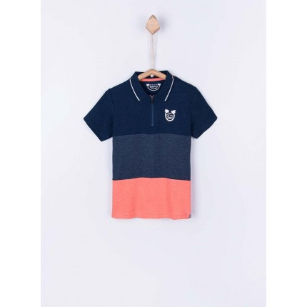 Polo Tiffosi Kids Zavier niño junior manga corta