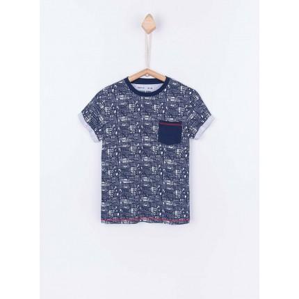 Camiseta Tiffosi Kids Chili niño junior manga corta