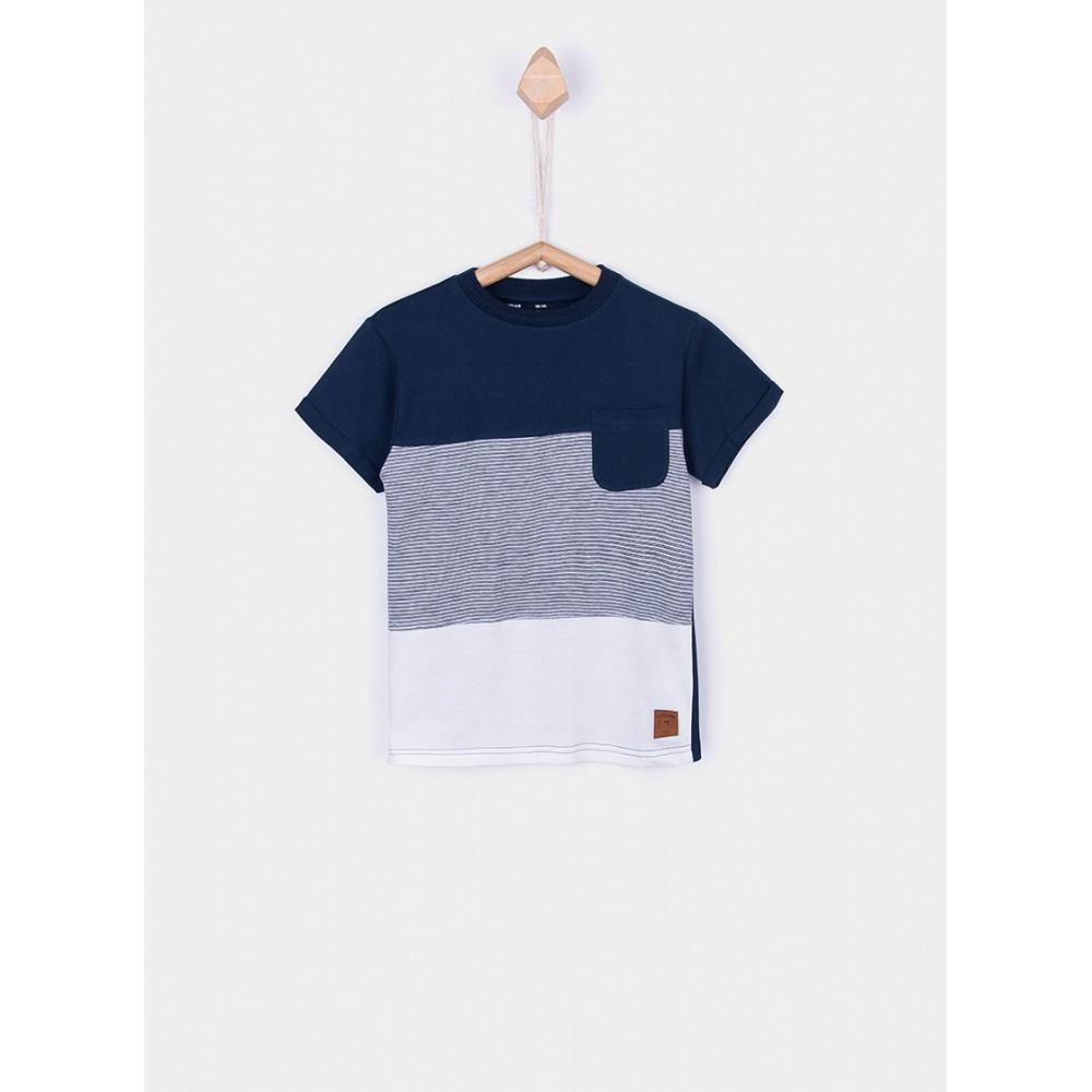 Camiseta Tiffosi Kids Toyama niño junior manga corta Orgánica Bio Algodón