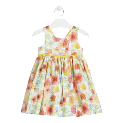 Vestido Losan Chic Collection Frutas niña infantil