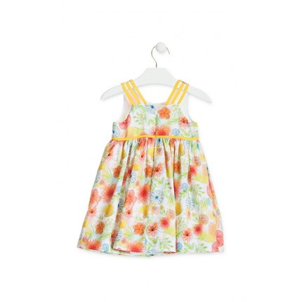 Espalda Vestido Losan Chic Collection Frutas niña infantil