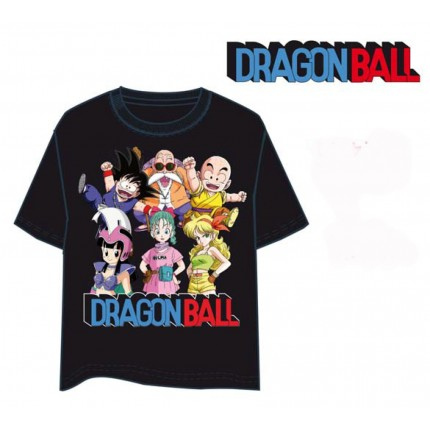 Camiseta Dragon Ball Chichi Bulma Launch adulto manga corta