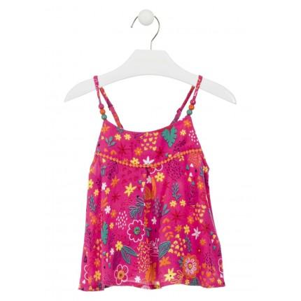 Camisa Losan Kids Etnica niña infantil tirantes