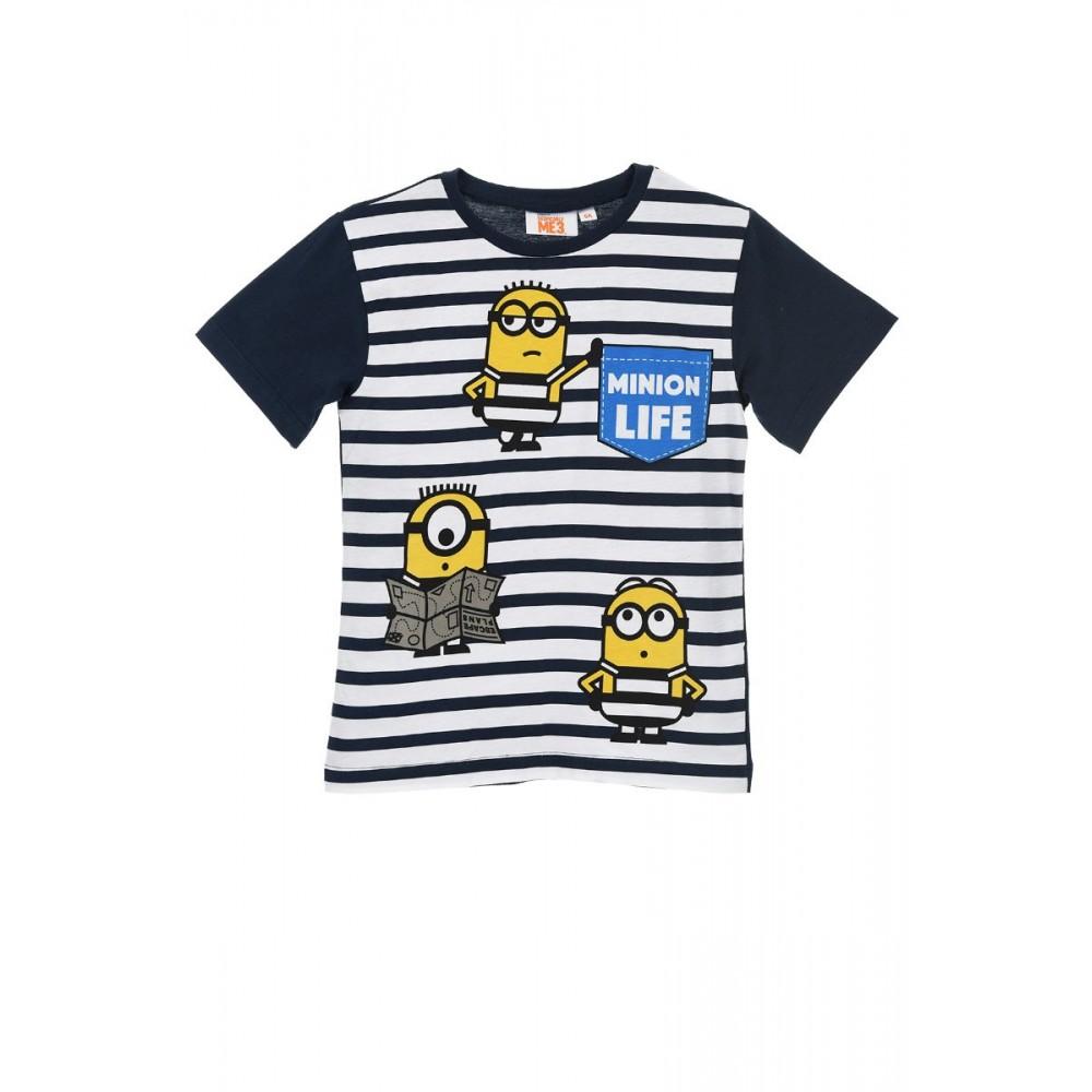 Camiseta Minions Live niño manga corta
