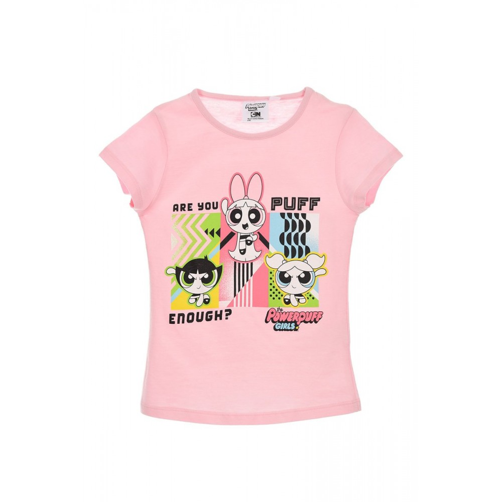 Camiseta the PowerPuff Girls niña infantil manga corta