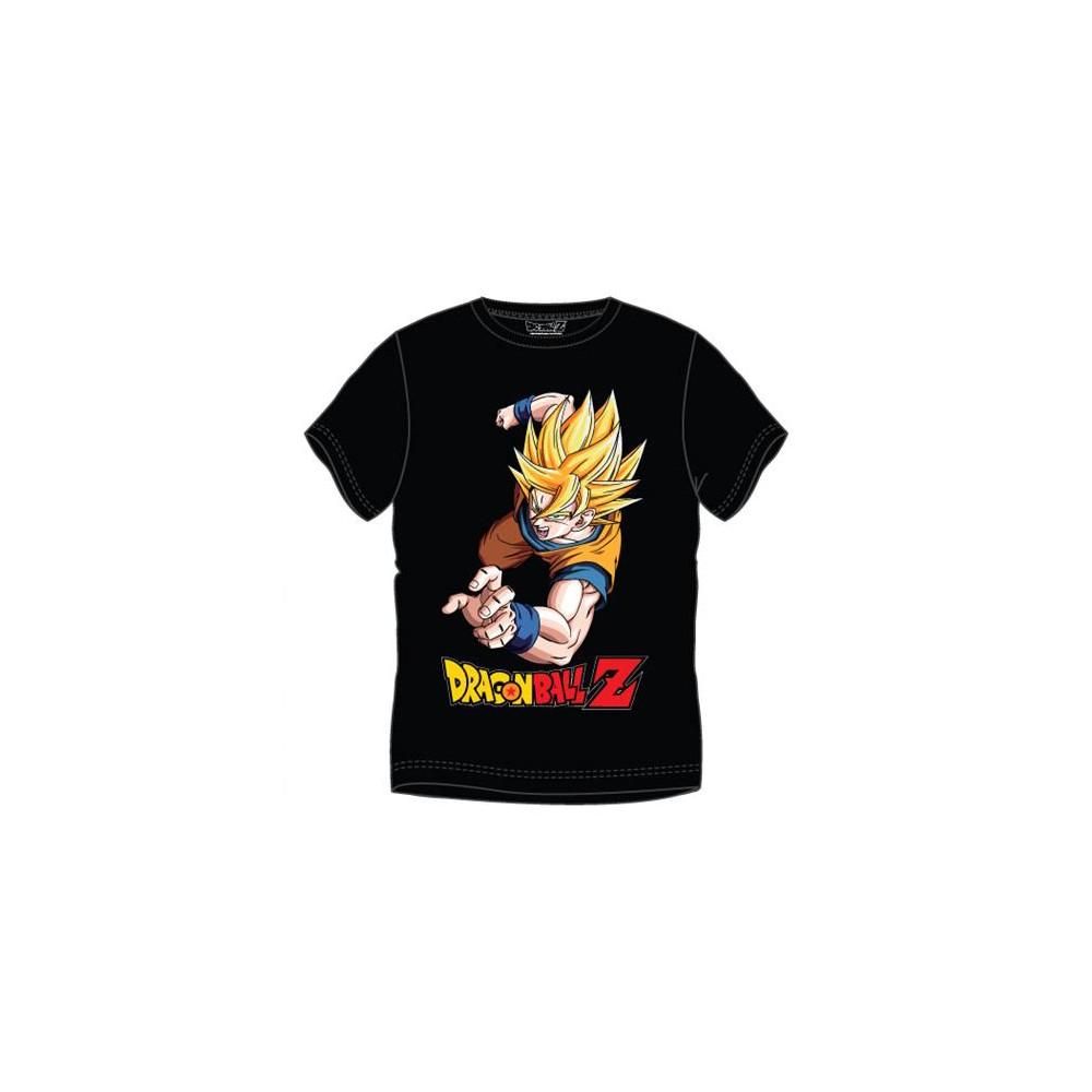 Camiseta Dragon Ball Z Goku Super Saiyan Adulto manga corta